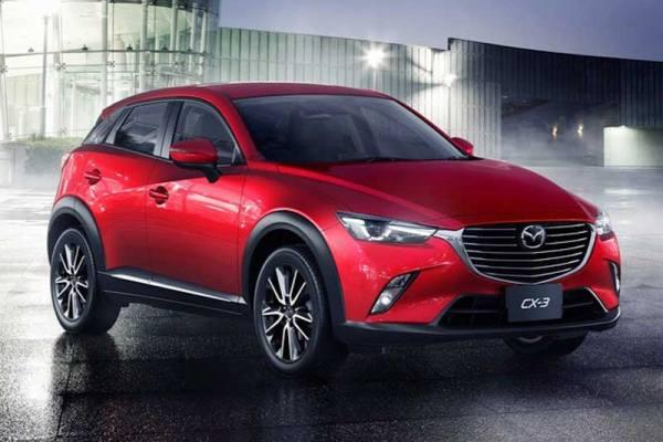 Felhizlalt kisautó a Mazda új SUV-ja