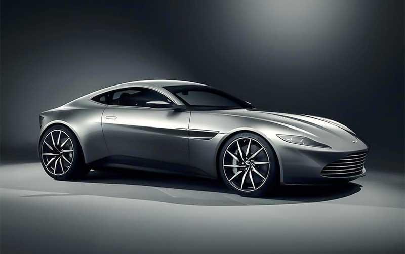 Bond is használja a vadiúj Aston Martint