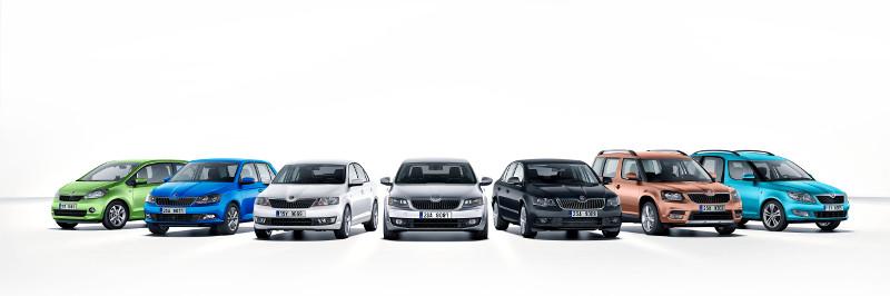 A ŠKODA 2014-ben: rekordév 1,04 millió kiszállított autóval