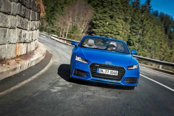 Az új TT Roadster - Dinamizmus a szabad ég alatt