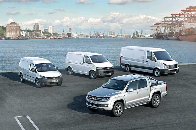 A Volkswagen Haszonjárművek növekvő számú kiszállítással nyitotta a 2015-ös évet a kulcsfontosságú nyugat-európai piacokon