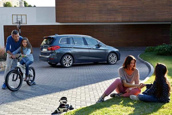 Az új családi autó a BMW 2-es Gran Tourer