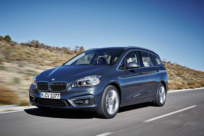 Az új BMW 2-es Gran Tourer
