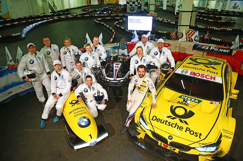 A BMW hivatalos főszponzorként exkluzív gokartversennyel indította az idei bob-világbajnokságot