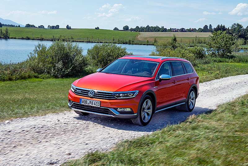Az új Volkswagen Passat 4MOTION összkerékhajtással és offroad üzemmóddal