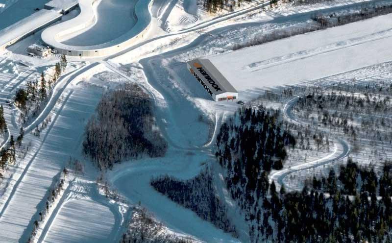 A Hankook a finnországi Ivaloban épít új téli gumiabroncs tesztközpontot
