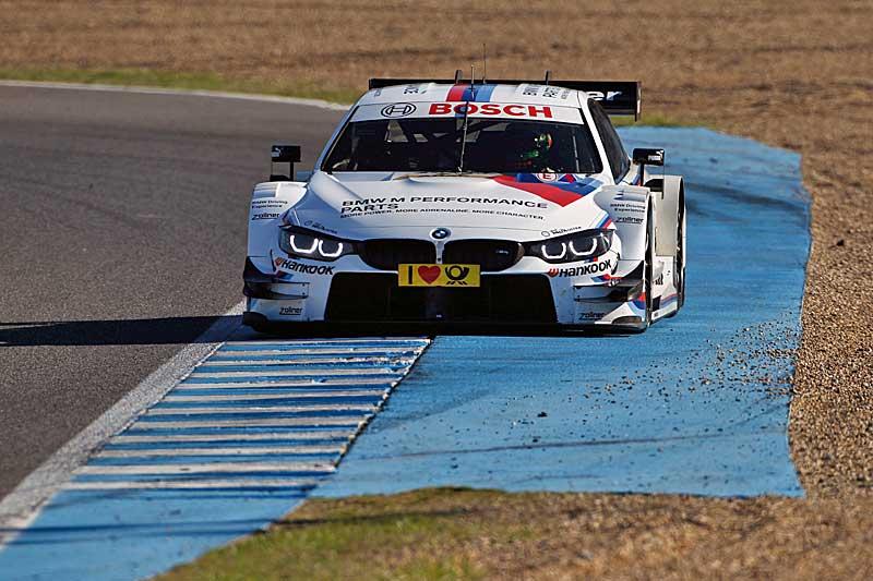 A spanyolországi Jerez de la Frontera versenypályáján a BMW Motorsport DTM Young Driver Test során négy tehetséges ifjú kapott lehetőséget.