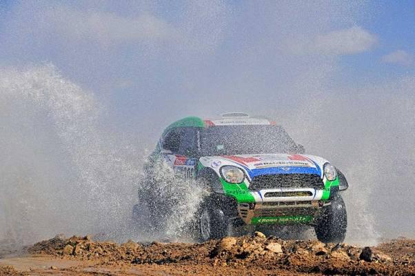 2016 Dakar Rally Erik van Loon és Wouter Rosegaar MINI ALL4 Team