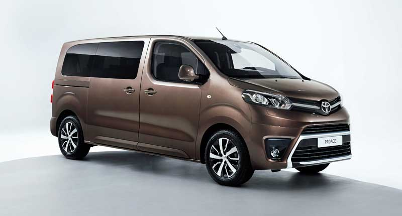 Toyota Proace Verso világpremiere a Genfi Autószalonon