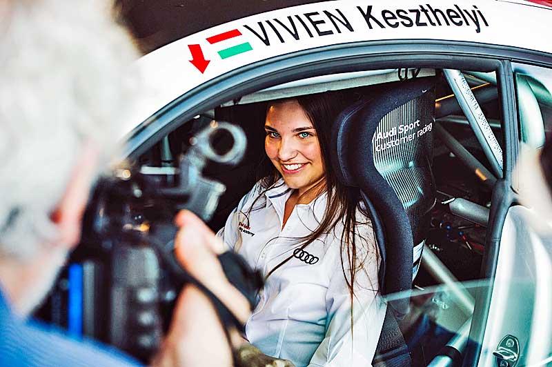 Audi Sport Racing Academy karöltve a fiatal magyar tehetségekkel