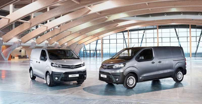 A Toyota Proace Van Compact kishaszongépjármű egy modern ajánlat