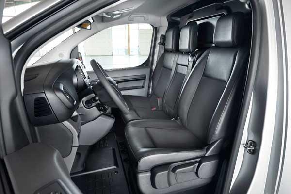 A Toyota Proace Van Compact kishaszongépjármű beltere