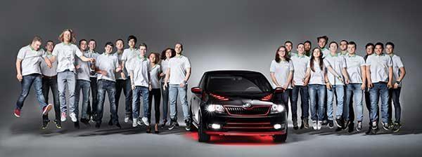 Diákok alkotta Škoda Atero álomkupé