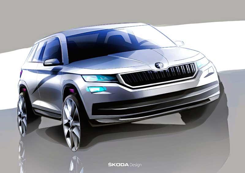 Megszületett a Škoda Kodiaq