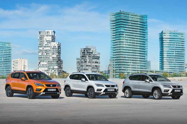 Nemzetközi porondon díjazták a SEAT Ateca autót