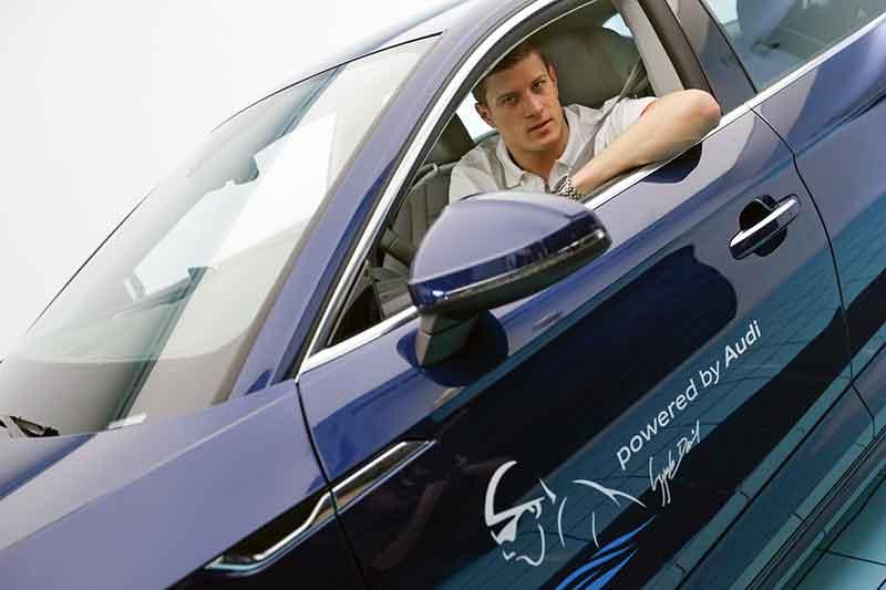 Az Audi patronálja Gyurta Dániel olimpiai bajnokot