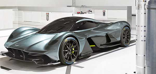 Az Aston Martin Valkyrie szupesportautóhoz Michelin gumiabroncs jár
