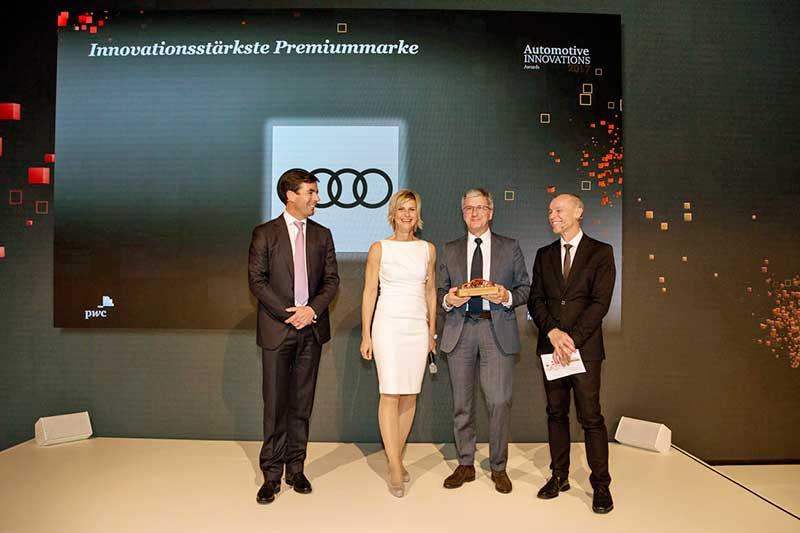 Automotive Innovations Award 2017 díj az Audinak