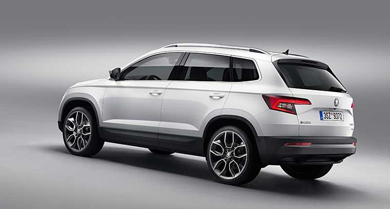 Bemutatkozik az új Škoda Karoq