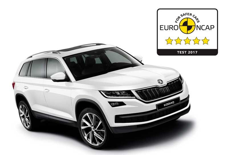 A Škoda Kodiaq a legmagasabb értéket érte el az Euro NCAP összesített tesztjén