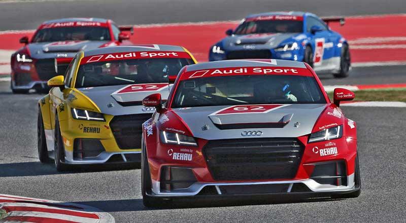 Újabb Philip Ellis győzelem az Audi Sport TT Cup-on