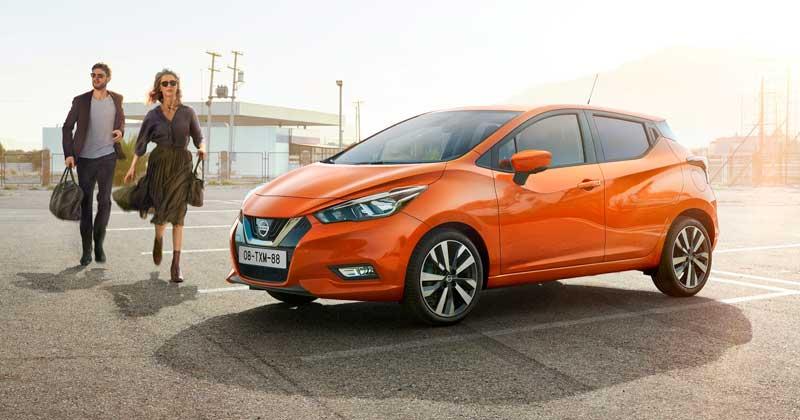 A most bemutatott Micra Négy és ötcsillagos Euro NCAP biztonsági minősítés a Nissan Micra-nak
