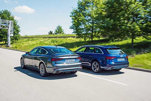 Középkategóriájú alternatívák – Már g-tron változatban is rendelhető az Audi A4 és az A5