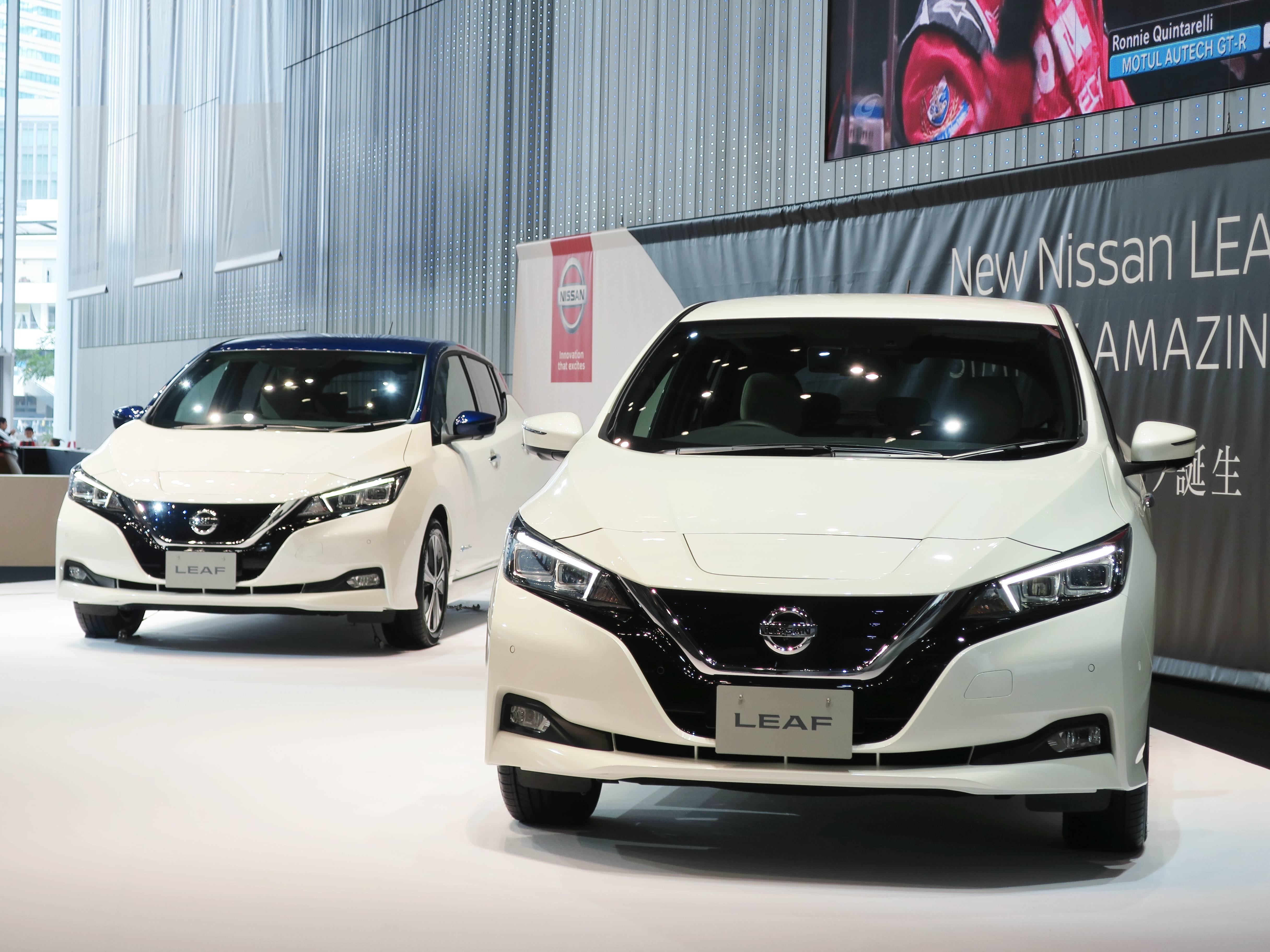 A korszerű Nissan LEAF megnyerte első internacionális díját