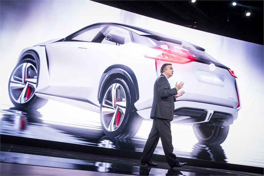 A Nissan leleplezte az IMx zéró emissziós tanulmányát a Tokiói Autókiállításon