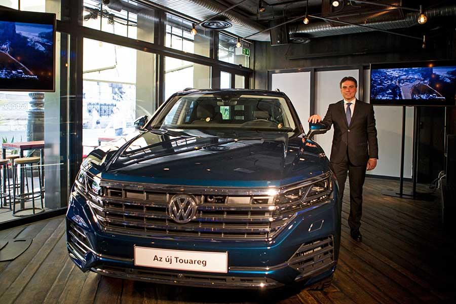 Budapesten is bemutatkozott a korszerű Volkswagen Touareg