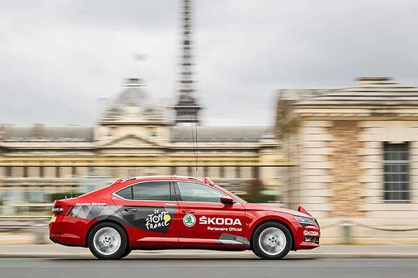 A Škoda már a 15. alkalommal lesz a Tour de France fő támogatója