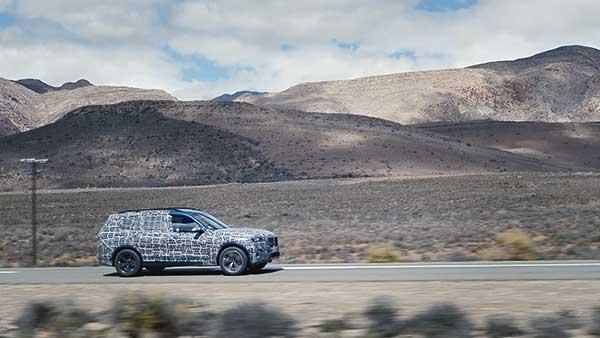 Extrém státuszok közt tesztel a modern BMW X7