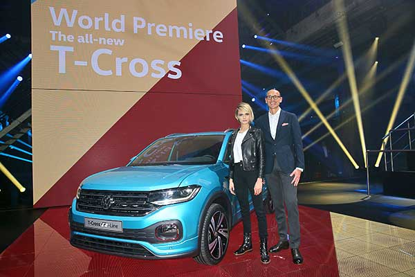A korszerű T-Cross világpremierje: a Volkswagen bővíti SUV-családját