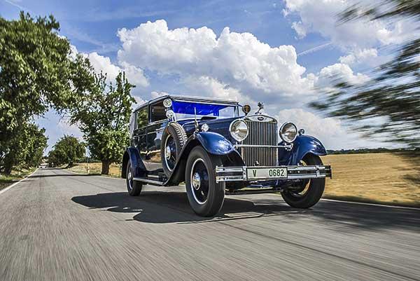 Tekintetet vonzó különlegesség a Škoda Múzeumban – Új fényben ragyog a nyolchengeres Škoda 860
