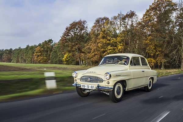 60 éves a Škoda OCTAVIA
