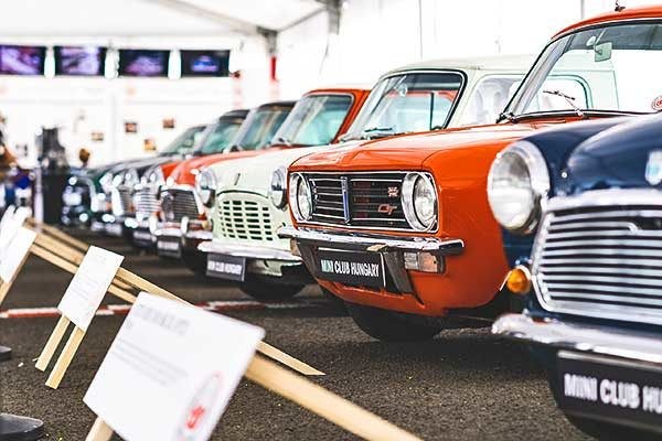 A MINI ragyogása a Hungaroring Classic-on