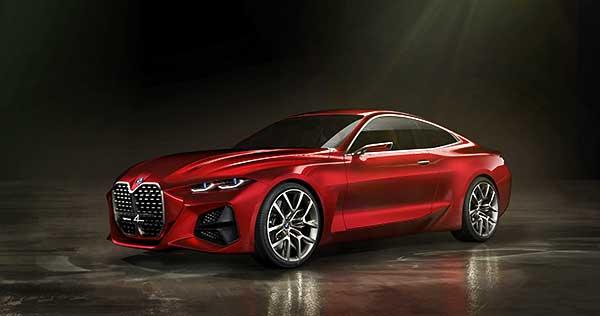 A BMW Concept 4 tanulmányautó