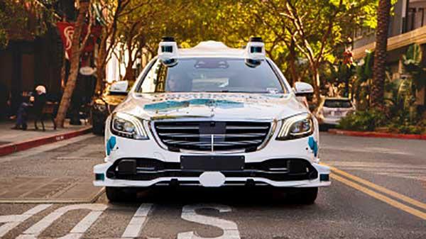 Önvezető közösségi taxik San Joséban a Bosch és a Mercedes-Benz kísérleti projektjében