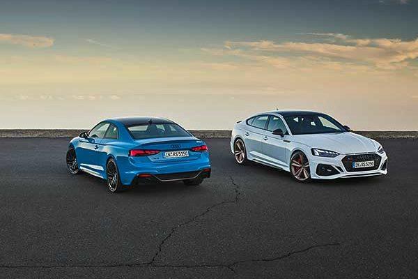 Finomhangolás: korszerűsödött az RS 5 Coupé és RS 5 Sportback