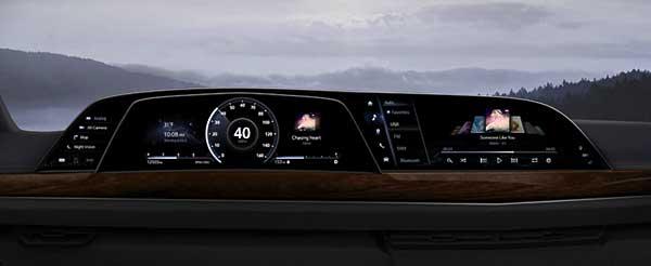 A 2021-es Cadillac Escalade-ben mutatkozik be a Föld első autós LG P OLED műszerfala