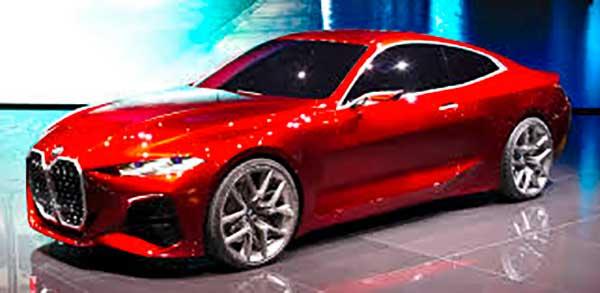 Stílusteremtő: a BMW Concept i4 tanulmányautó