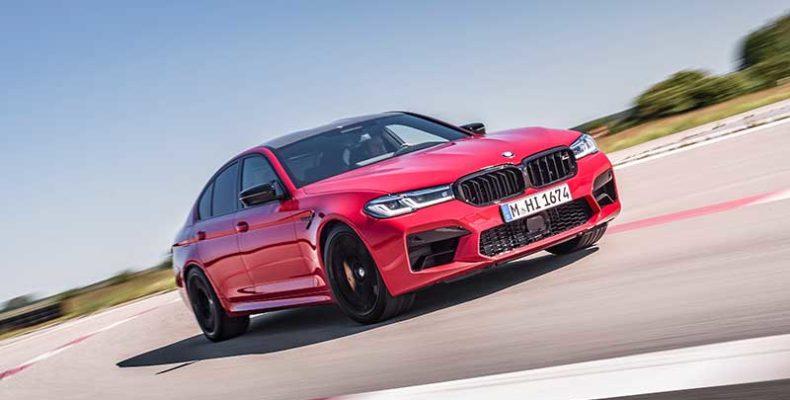 Az új BMW M5 és BMW M5 Competition