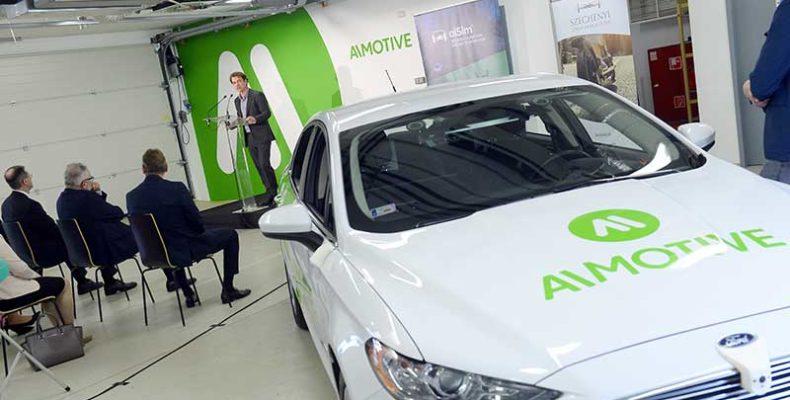 Hatmilliárd forintos tőkebefektetést kapott az önvezető járműveket fejlesztő AImotive Kft.