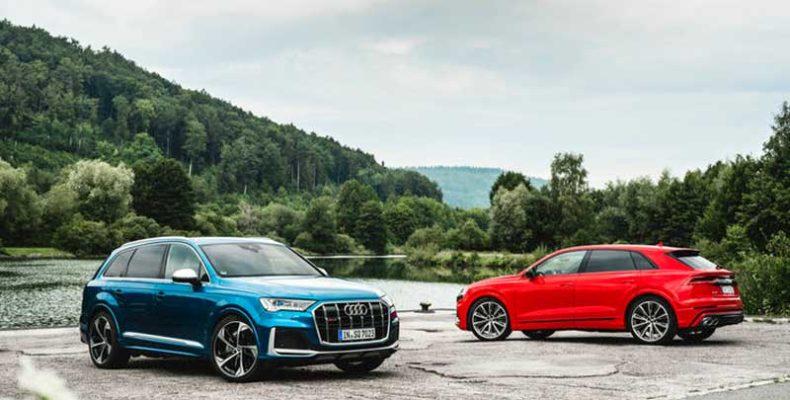 Káprázatos vezetési benyomás és páratlan használhatóság: az Audi S3, Audi SQ7 és az Audi SQ8 TFSI