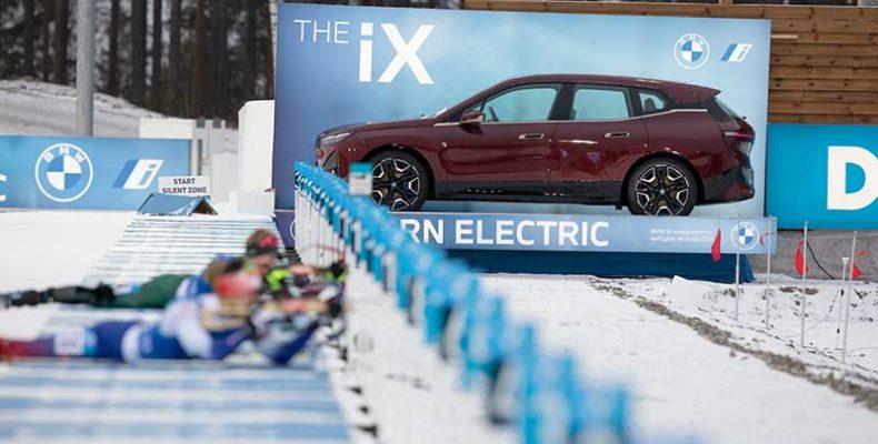 A BMW iX modell lesz a BMW Group idei télisport-támogatásainak főszereplője