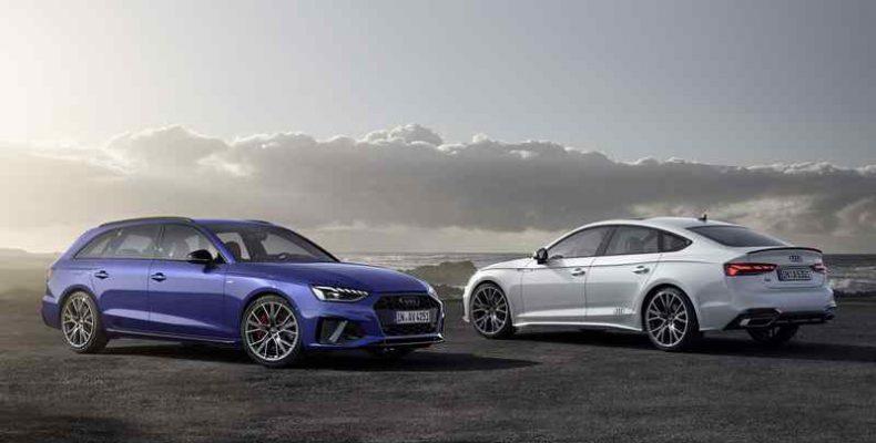 Modernizált, még sportosabb külsővel érkezik a korszerű modellévre az Audi A1, A4, A5, Q7 és Q8