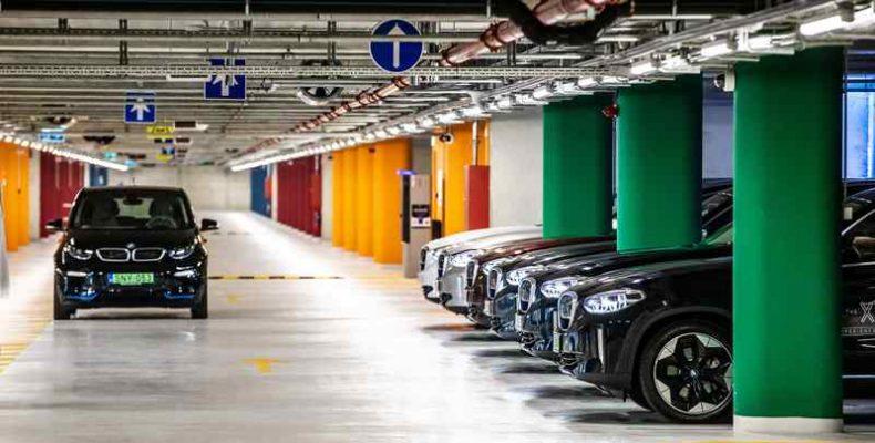 BMW iX3 roadshow Magyarországon