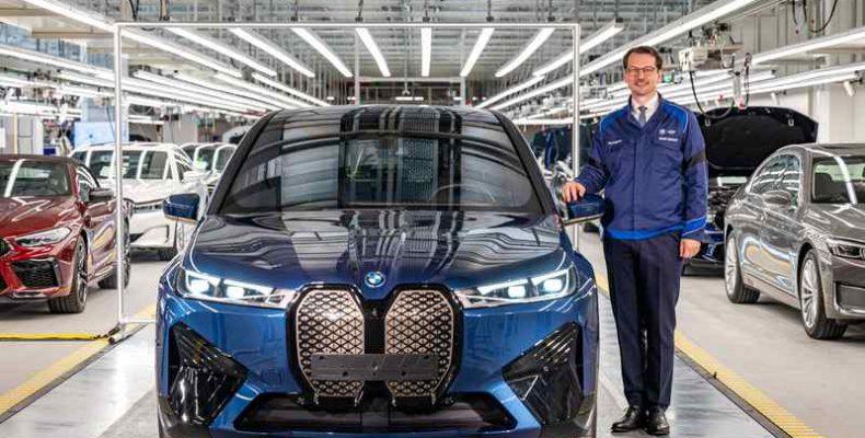 Kezdetét vette a BMW iX sorozatgyártása