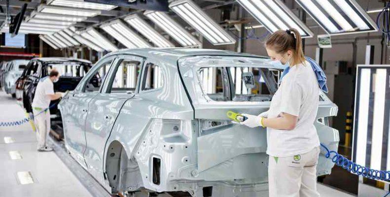 A Škoda legyártotta a százezredik iV-modellt
